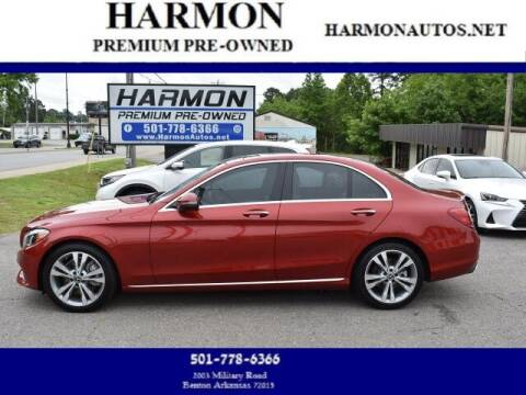 2018 Mercedes-Benz C-Class for sale at Harmon Premium Pre-Owned in Benton AR