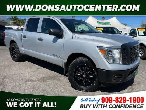 2018 Nissan Titan for sale at Dons Auto Center in Fontana CA