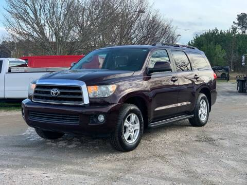 2013 Toyota Sequoia for sale at DAB Auto World & Leasing in Wake Forest NC