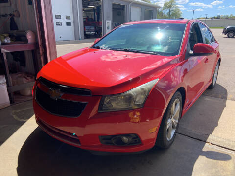 2014 Chevrolet Cruze for sale at Blake Hollenbeck Auto Sales in Greenville MI
