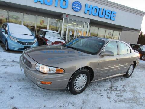2001 Buick LeSabre for sale at Auto House Motors in Downers Grove IL