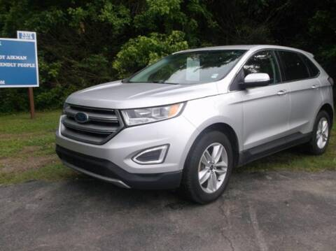 2017 Ford Edge for sale at Luv Motor Company in Roland OK