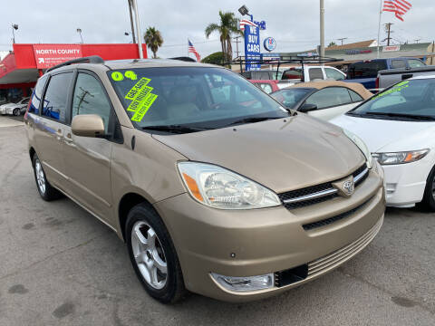 2004 Toyota Sienna for sale at North County Auto in Oceanside CA