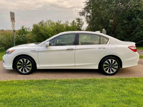 2017 Honda Accord Hybrid for sale at You Win Auto in Metro MN
