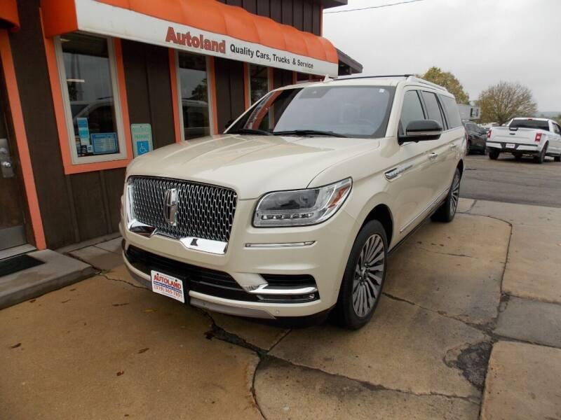 2018 Lincoln Navigator L for sale at Autoland in Cedar Rapids IA