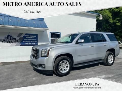 2015 GMC Yukon for sale at METRO AMERICA AUTO SALES of Lebanon in Lebanon PA
