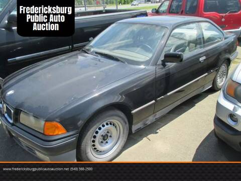 1993 BMW 3 Series for sale at FPAA in Fredericksburg VA