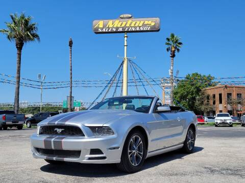 2014 Ford Mustang for sale at A MOTORS SALES AND FINANCE - 6226 San Pedro Lot in San Antonio TX