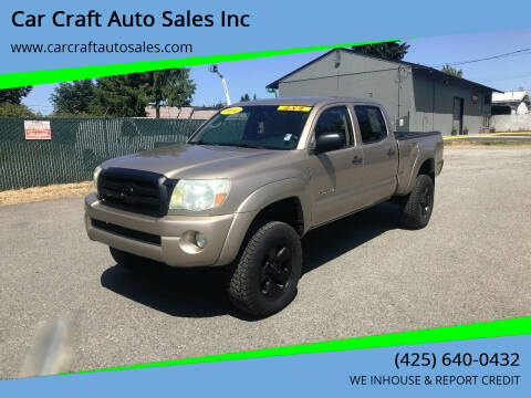 2006 Toyota Tacoma for sale at Car Craft Auto Sales Inc in Lynnwood WA