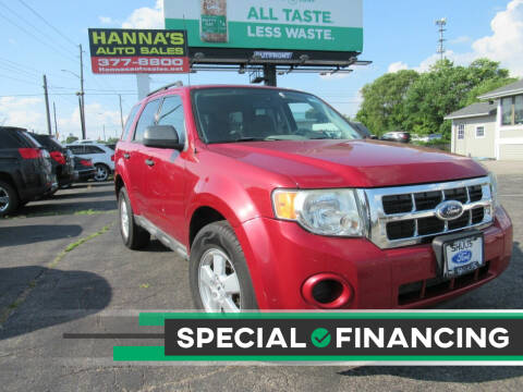 2009 Ford Escape for sale at Hanna's Auto Sales in Indianapolis IN