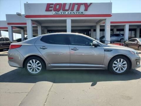 2015 Kia Optima for sale at EQUITY AUTO CENTER in Phoenix AZ