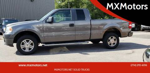 2008 Ford F-150 for sale at MX Motors LLC in Ashland MA