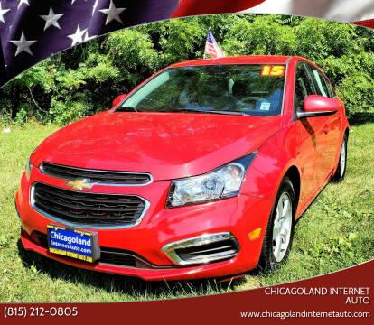 2015 Chevrolet Cruze for sale at Chicagoland Internet Auto - 410 N Vine St New Lenox IL, 60451 in New Lenox IL