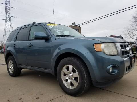 2012 Ford Escape for sale at CarNation Auto Group in Alliance OH