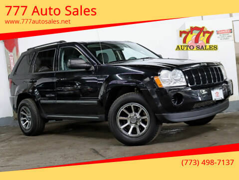 2007 Jeep Grand Cherokee for sale at 777 Auto Sales in Bedford Park IL