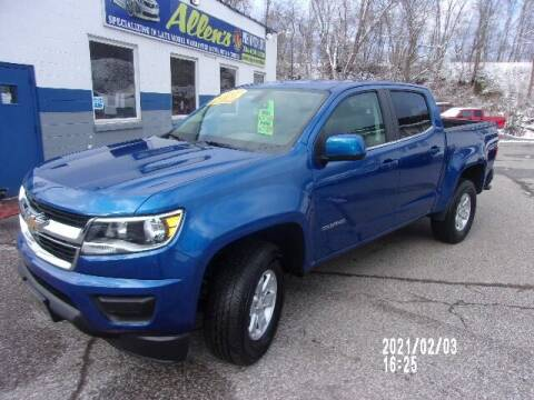 2020 Chevrolet Colorado for sale at Allen's Pre-Owned Autos in Pennsboro WV