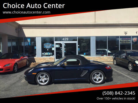 2007 Porsche Boxster for sale at Choice Auto Center in Shrewsbury MA
