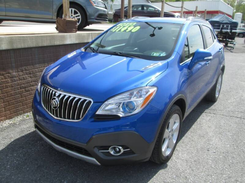 2015 Buick Encore for sale at WORKMAN AUTO INC in Pleasant Gap PA