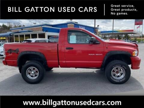2003 Dodge Ram Pickup 1500 for sale at Bill Gatton Used Cars in Johnson City TN
