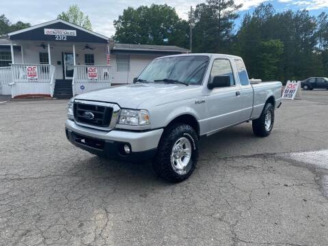 2011 Ford Ranger for sale at CVC AUTO SALES in Durham NC