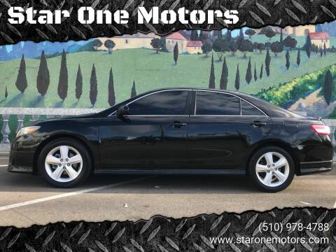 2011 Toyota Camry for sale at Star One Motors in Hayward CA