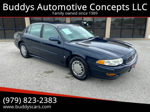 2003 Buick LeSabre for sale at Buddys Automotive Concepts LLC in Bryan TX