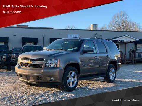 2013 Chevrolet Tahoe for sale at DAB Auto World & Leasing in Wake Forest NC