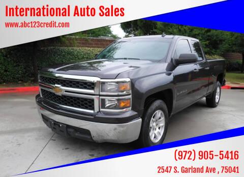 2014 Chevrolet Silverado 1500 for sale at International Auto Sales in Garland TX