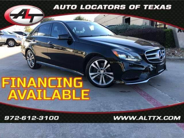 2014 Mercedes-Benz E-Class for sale at AUTO LOCATORS OF TEXAS in Plano TX