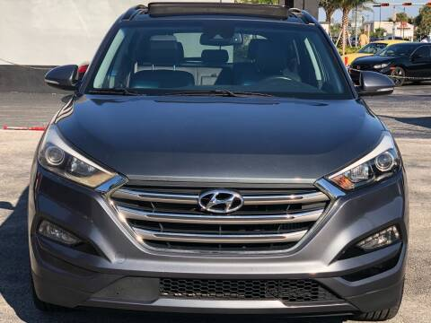 2017 Hyundai Tucson for sale at CARSTRADA in Hollywood FL