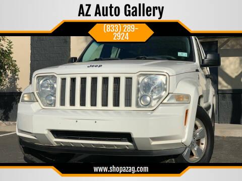2010 Jeep Liberty for sale at AZ Auto Gallery in Mesa AZ