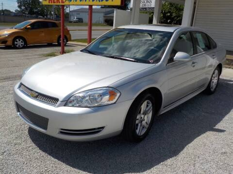 2015 Chevrolet Impala Limited for sale at SEBASTIAN AUTO SALES INC. in Terre Haute IN
