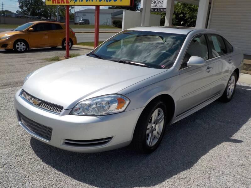 2015 Chevrolet Impala Limited for sale at SEBASTIAN AUTO SALES INC. in Terre Haute IN