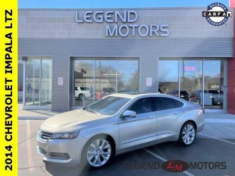 2014 Chevrolet Impala for sale at Legend Motors of Detroit - Legend Motors of Waterford in Waterford MI