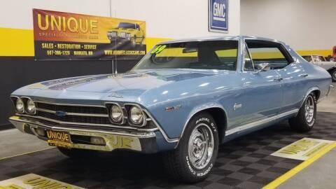 1969 Chevrolet Chevelle for sale at UNIQUE SPECIALTY & CLASSICS in Mankato MN
