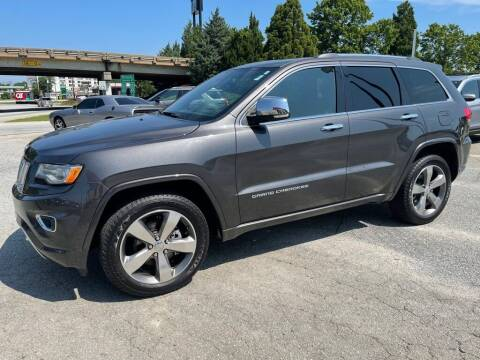 2015 Jeep Grand Cherokee for sale at Modern Automotive in Boiling Springs SC
