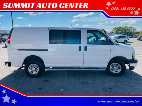 2018 Chevrolet Express Cargo for sale at SUMMIT AUTO CENTER in Summit IL
