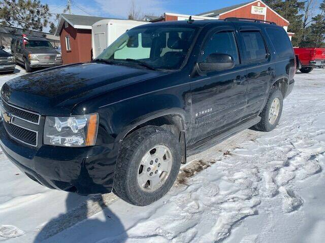 2008 Chevrolet Tahoe for sale at Four Boys Motorsports in Wadena MN