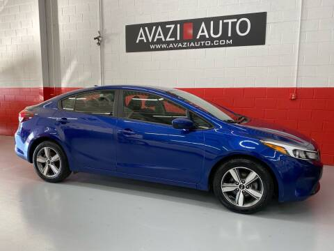 2018 Kia Forte for sale at AVAZI AUTO GROUP LLC in Gaithersburg MD