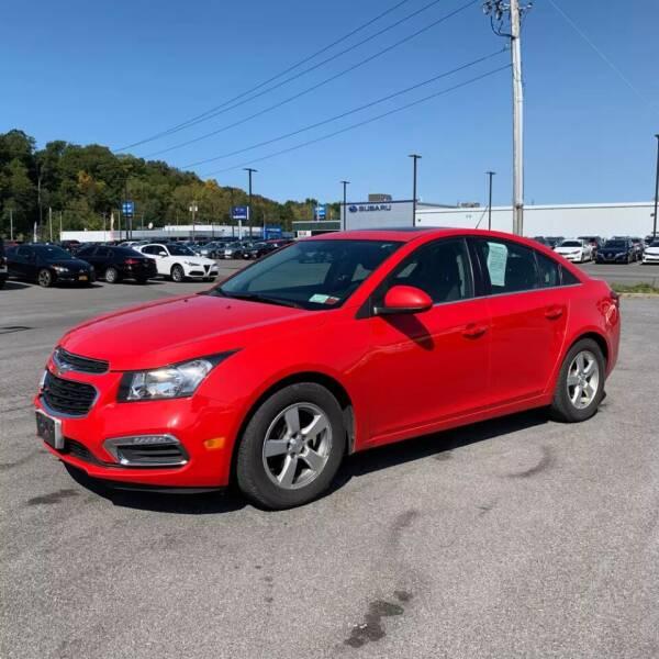 2015 Chevrolet Cruze for sale at JOANKA AUTO SALES in Newark NJ