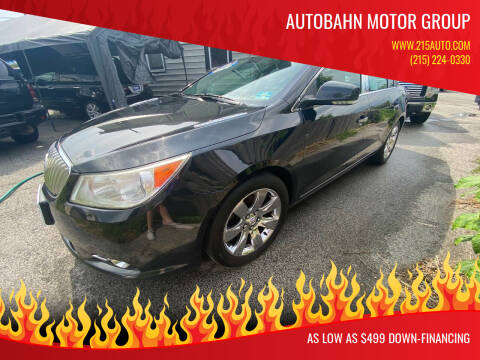 2010 Buick LaCrosse for sale at Autobahn Motor Group in Willow Grove PA