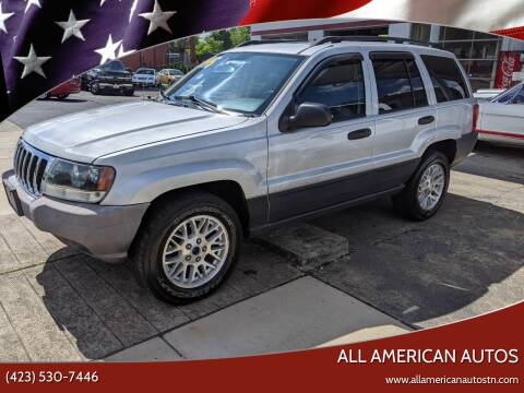 2003 Jeep Grand Cherokee for sale at All American Autos in Kingsport TN