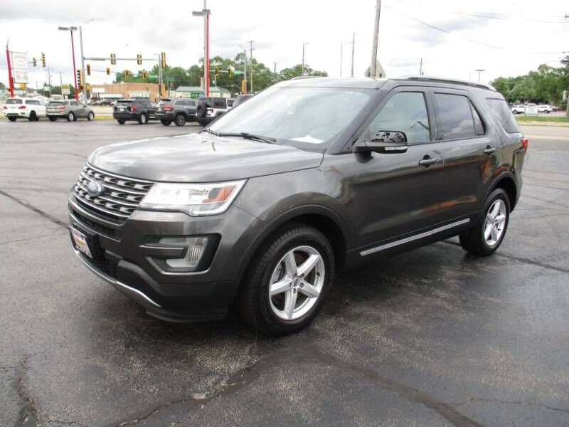 2017 Ford Explorer for sale at Windsor Auto Sales in Loves Park IL