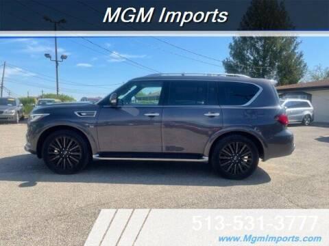 2019 Infiniti QX80 for sale at MGM Imports in Cincinnati OH