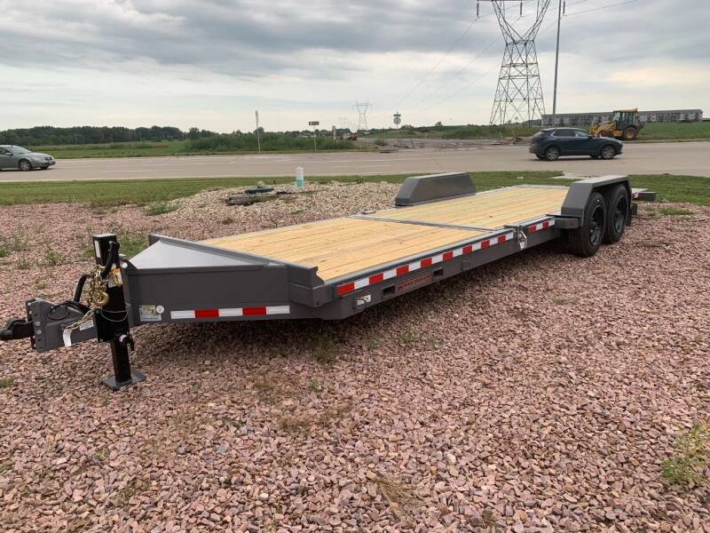 2022 Midsota TB-24 Split Tilt #0381 for sale at Prairie Wind Trailers, LLC in Harrisburg SD