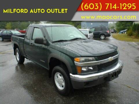 2005 Chevrolet Colorado for sale at Milford Auto Outlet in Milford NH