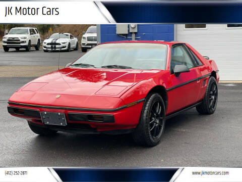 1984 Pontiac Fiero for sale at JK Motor Cars in Pittsburgh PA