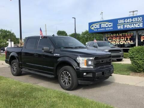 2018 Ford F-150 for sale at JOE RICCI AUTOMOTIVE in Clinton Township MI