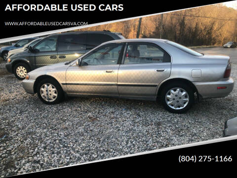 1997 Honda Accord for sale at AFFORDABLE USED CARS in Richmond VA