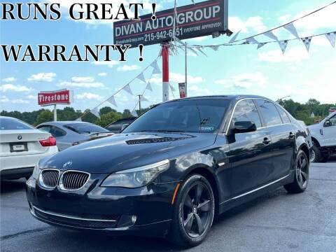 2008 BMW 5 Series for sale at Divan Auto Group in Feasterville Trevose PA